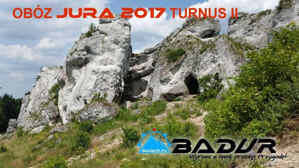 Podsumowanie obozu JURA 2017 turnus II