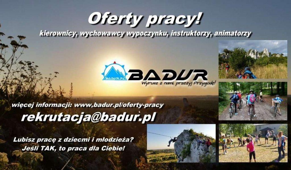 Oferty pracy wfirmie BADUR