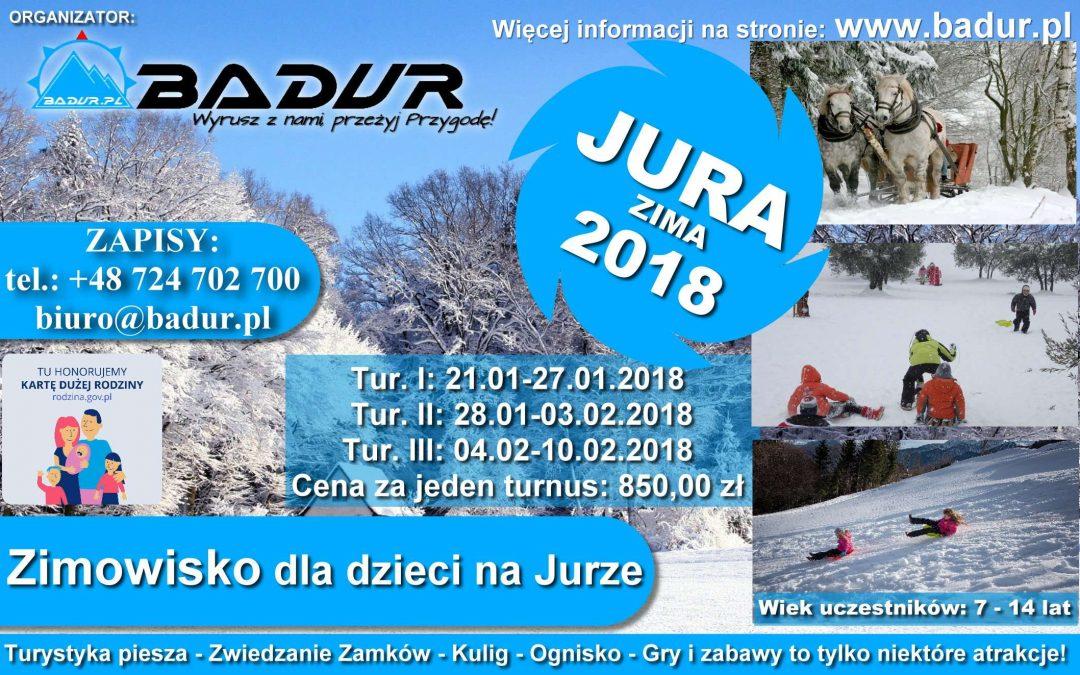Zimowisko dla dzieci JURA 2018 Turnus III