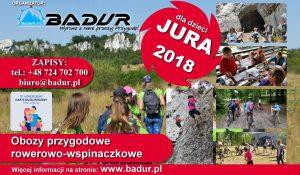 Letni obóz dla dzieci przygodowy Rowerowo-Wspinaczkowy JURA 2018