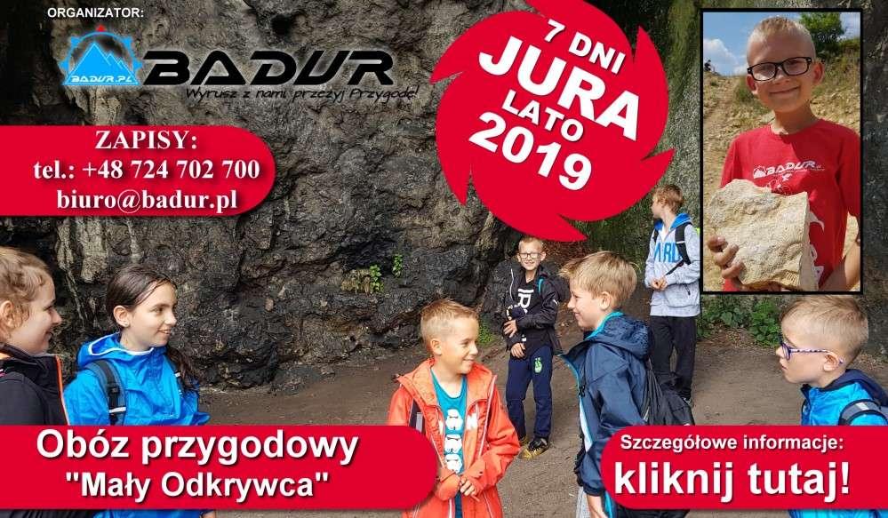 Letni Obóz przygodowy dla dzieci JURA 2019