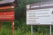 Pogórze Rożnowskie - wieża widokowa Jamna