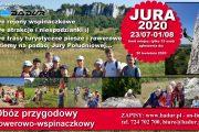 Obóz przygodowy rowerowo-wspinaczkowy JURA 2020