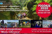 """Obóz przygodowy """"Młody Odkrywca"""" POGÓRZE 2020"""